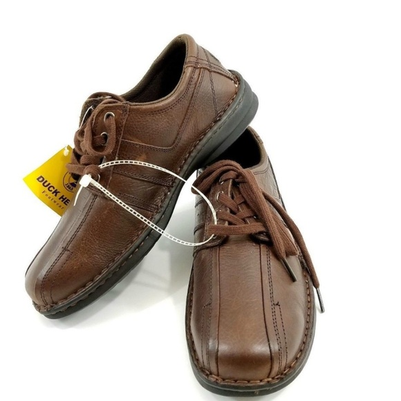 Duck Head Other - DUCK HEAD Men Dark Brown Leather Oxfords Loafers.